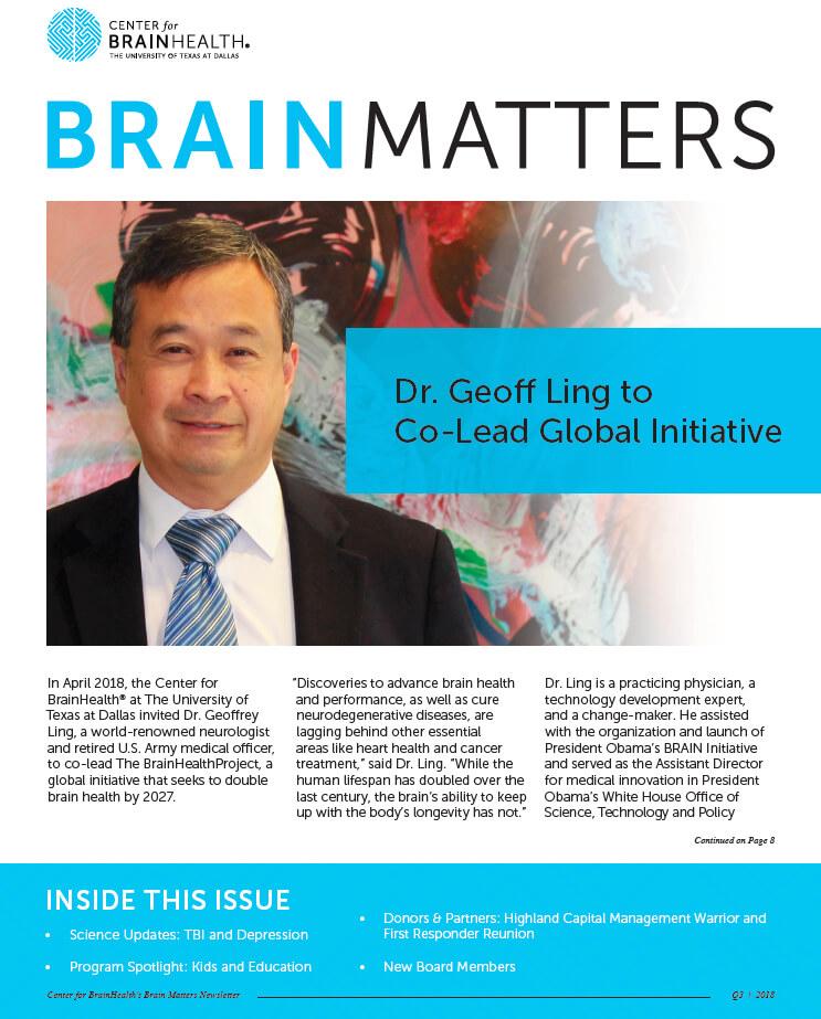 Brain Matters Newsletters - Center for BrainHealth