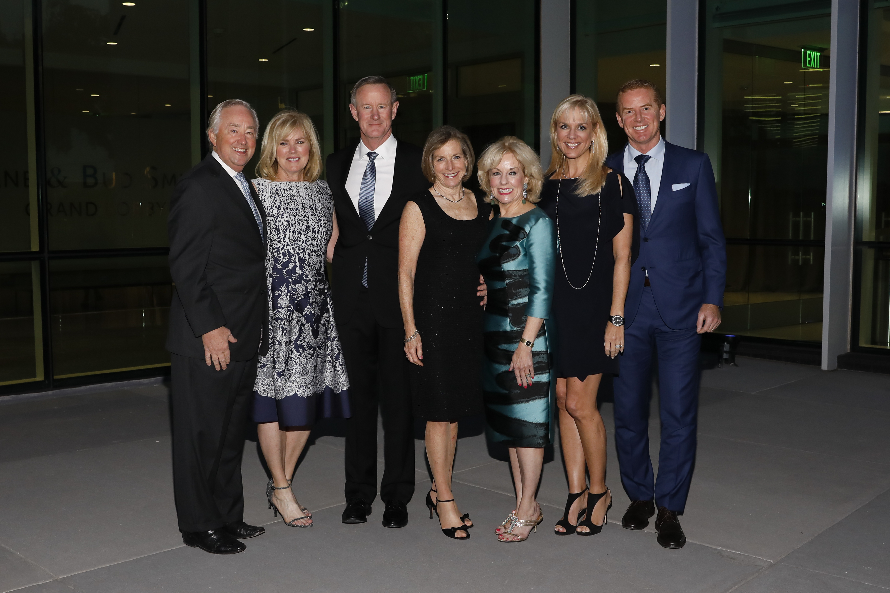 Admiral and Mrs. William McRaven Receive Center for