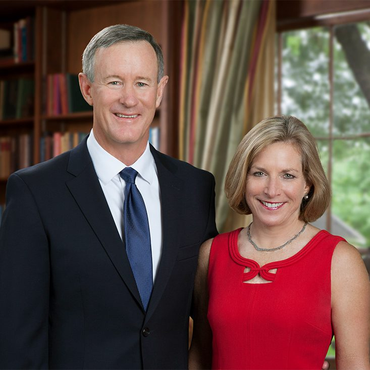 Admiral (retired) and Mrs. William McRaven